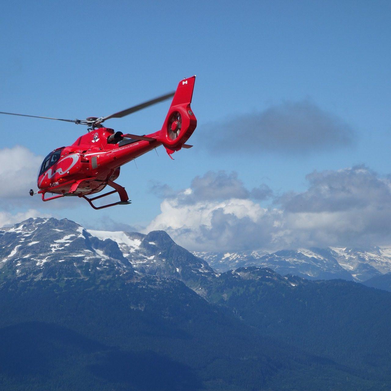 Helikopterflug-Bodensee